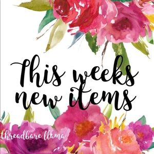 This Weeks Newest Items